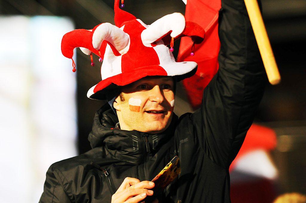 Polnischer Fan