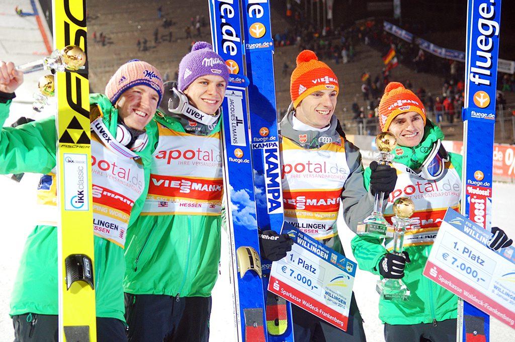 Freund, Wellinger, Wank, Freitag