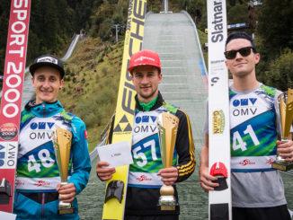 Clemens Aigner, Markus Eisenbichler, Mackenzie Boyd-Clowes