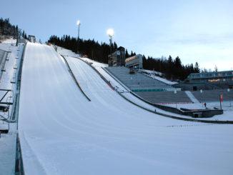 Der Lysgardsbakken in Lillehammer, Austragungsort der Olympischen Winterspiele 1994. Foto: GEPA