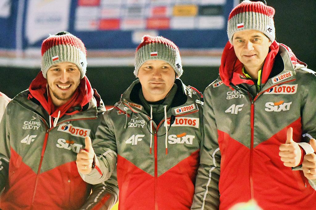 Polnisches Trainerteam