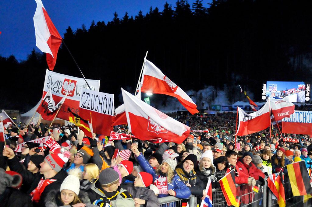Polnische Fans