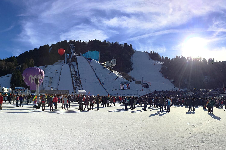 Skispringen Garmisch Partenkirchen
