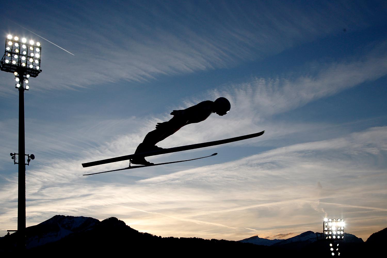Skispringer Finnland