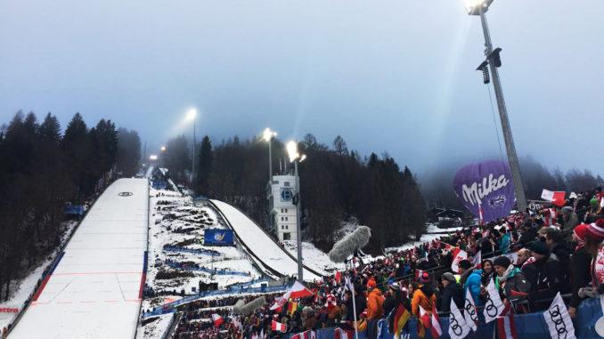 Skispringen Bischofshofen
