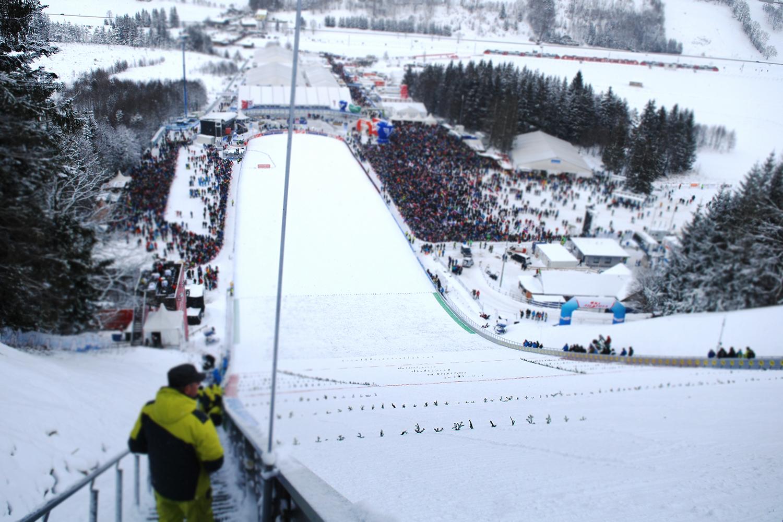 Skispringen Kulm