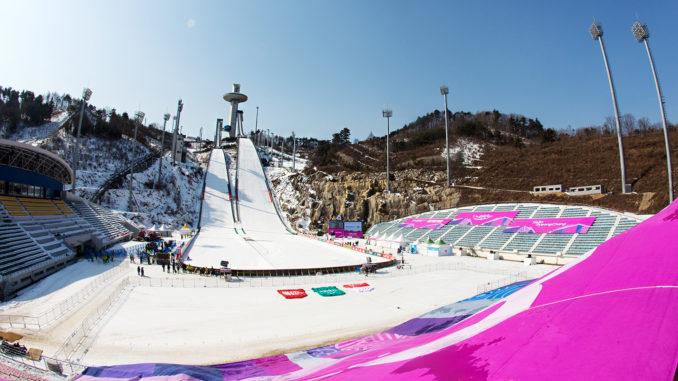 olympische winterspiele 2019 skispringen