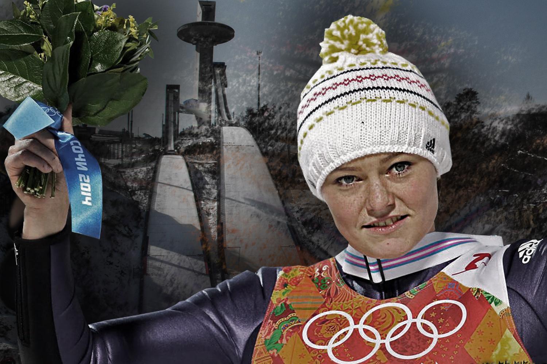 Olympia Skispringen Damen