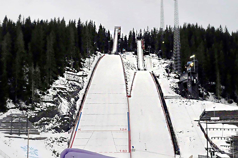 Skispringen Trondheim