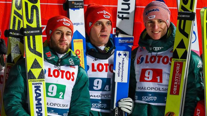 Trotz Siegel Sturz Dsv Skispringer Feiern Sieg In Zakopane