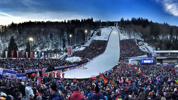 wm skispringen heute
