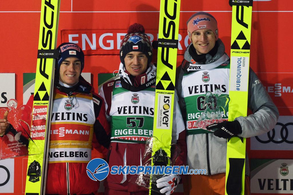 Stefan Kraft, Kamil Stoch, Karl Geiger