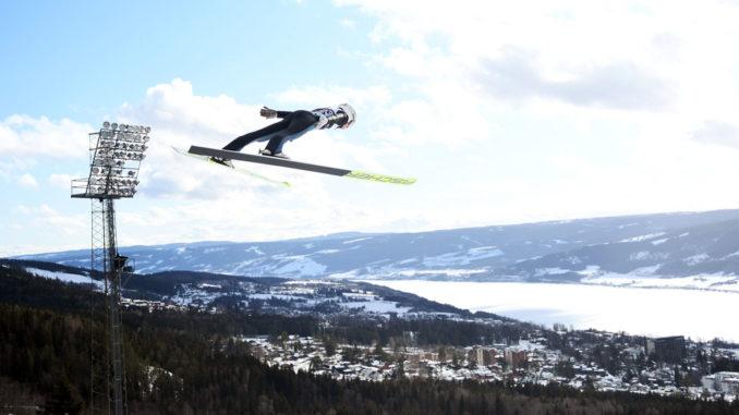 Skispringen Lillehammer