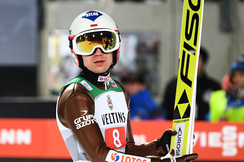 Polnische Skispringer