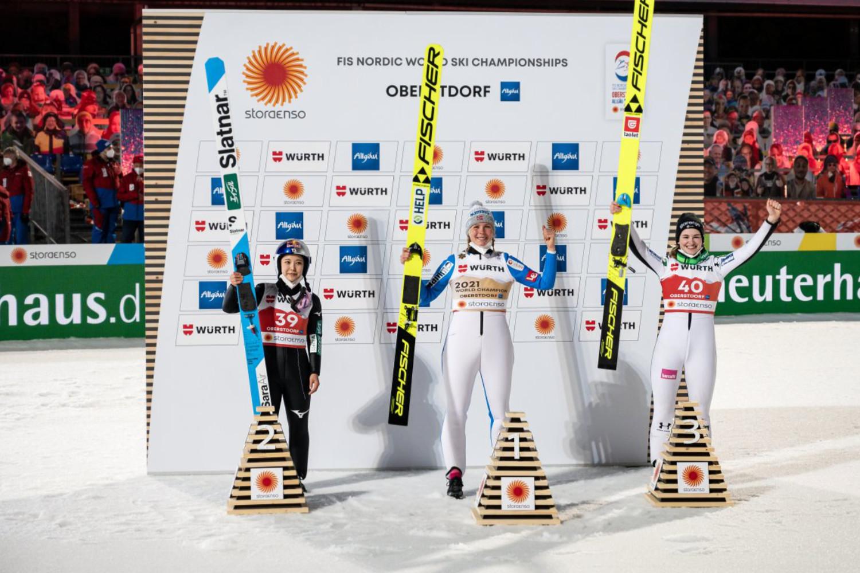 Maren Lundby ist erste Großschanzen-Weltmeisterin der Geschichte - skispringen.com - skispringen.com